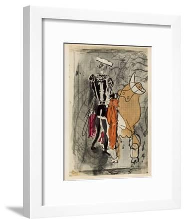 Carnets Intimes 13-Georges Braque-Framed Collectable Print