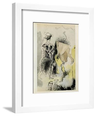Carnets Intimes 14-Georges Braque-Framed Collectable Print