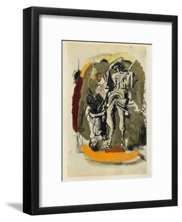 Carnets Intimes 15-Georges Braque-Framed Collectable Print