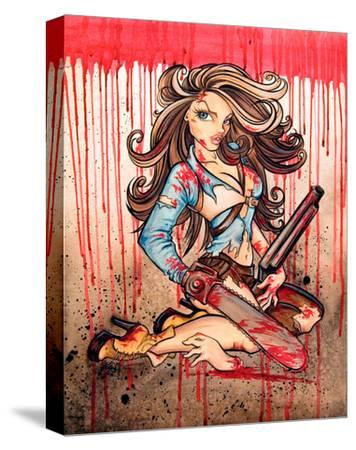 Ash ( Hello Boomstick)-Alayna Magnan-Stretched Canvas Print