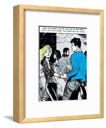 When We Danced-Roy Newby-Framed Art Print