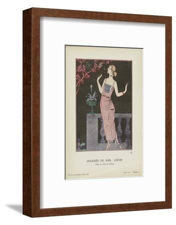 Araignee-Georges Barbier-Framed Art Print