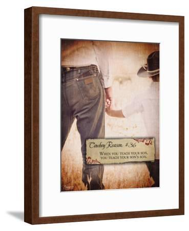 Reason no. 36: Teach Your Son-Shawnda Eva-Framed Art Print