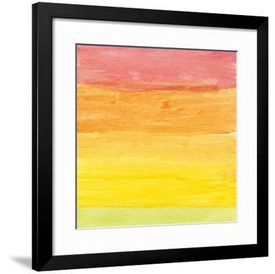 Watercolor 4, c.2011-Valerie Francoise-Framed Premium Giclee Print
