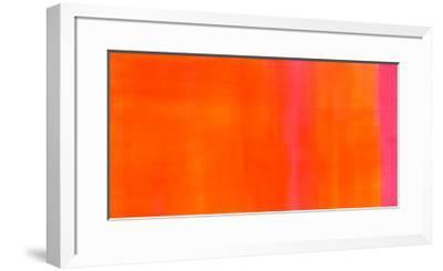 Orange-Magenta, c.2005-Susanne St?hli-Framed Serigraph