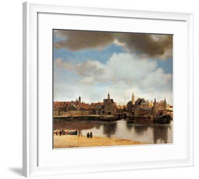 View of Delft-Johannes Vermeer-Framed Giclee Print