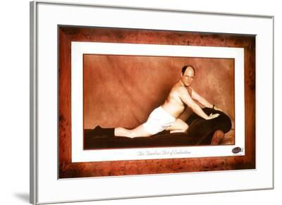 Seinfeld George The Timeless Art of Seduction TV Poster Print--Framed Poster