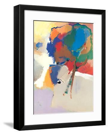 Twee Boomen-Jan Biessen-Framed Art Print