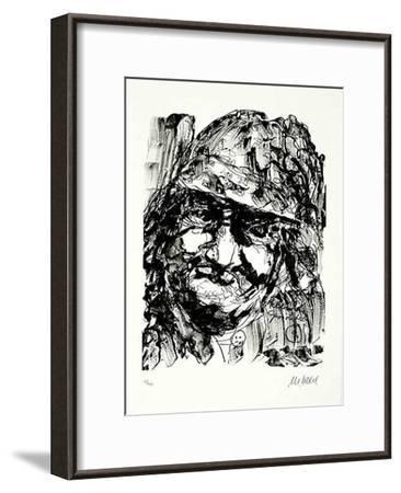Fellinis Gesichter I-Armin Mueller-Stahl-Framed Limited Edition