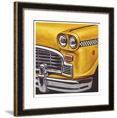 NY Taxi-Klaus Boekhoff-Framed Limited Edition