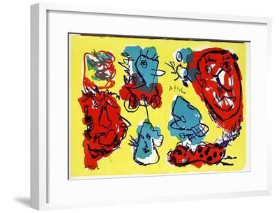 74-63 (One Cent Life)-Karel Appel-Framed Collectable Print