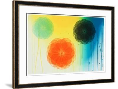 Floral II-Marianne Grönnow-Framed Limited Edition