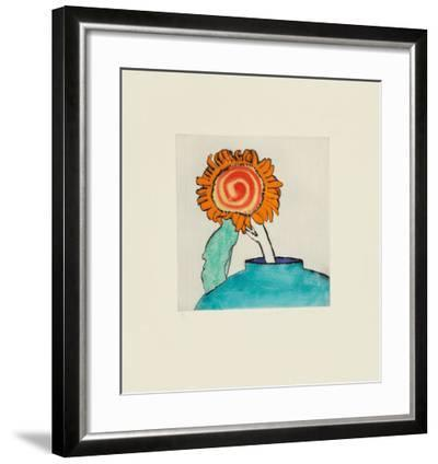 Sunflower Solo-Richard Spare-Framed Limited Edition