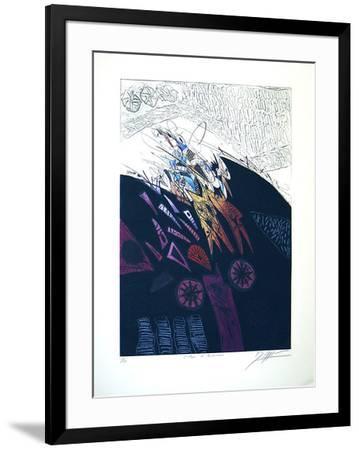 Eclair de Nuit-Georges Dussau-Framed Limited Edition