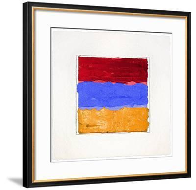 Armenien-Bernd Schwarzer-Framed Limited Edition