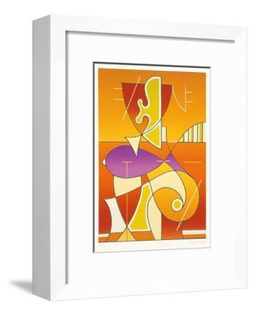 Halbfigur-Ludwig Gebhard-Framed Limited Edition