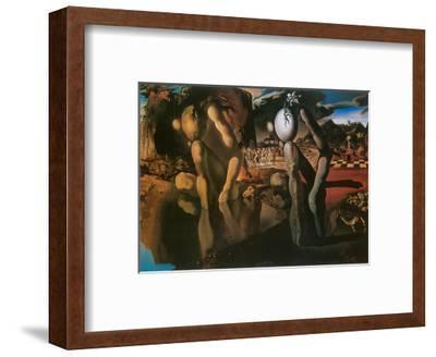 The Metamorphosis of Narcissus, c.1937-Salvador Dal?-Framed Art Print
