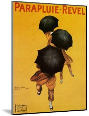 Parapluie Revel-Leonetto Cappiello-Mounted Art Print