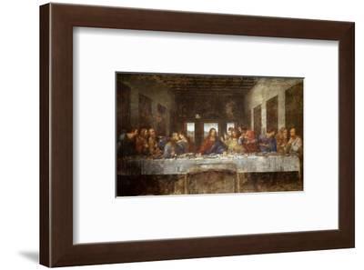 Last Supper-Leonardo da Vinci-Framed Art Print