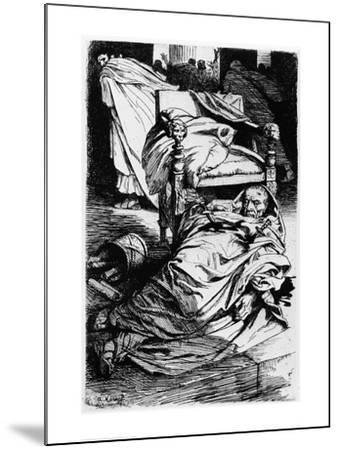 The Murder of Julius Caesar, 1924-Arthur Kampf-Mounted Giclee Print