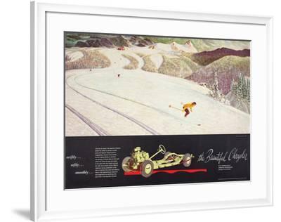 The Beautiful Chrysler-John Clymer-Framed Art Print