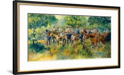 The Scout-Charles Shaw-Framed Premium Giclee Print