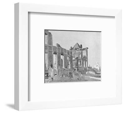 The Billet of Warrior's-Sir Alfred Munnings-Framed Premium Giclee Print