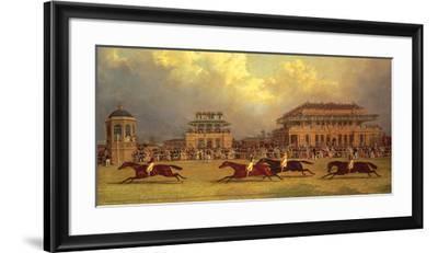 The Doncaster Gold Cup of 1838-J^F^ Herring Senior-Framed Premium Giclee Print