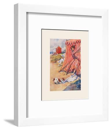 Help!-Percy Hickling-Framed Premium Giclee Print