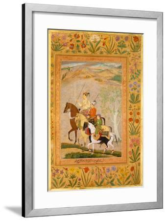 Three Younger Sons- 17th Century School-Framed Premium Giclee Print