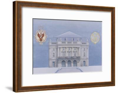 Bayreuth-Andras Kaldor-Framed Premium Giclee Print