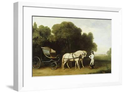 A Phaeton-George Stubbs-Framed Premium Giclee Print