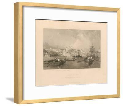 Constantinople-Thomas Allom-Framed Premium Giclee Print