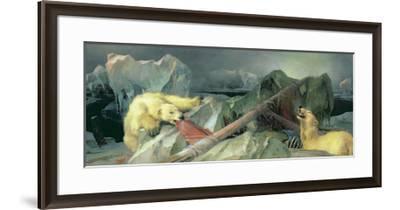 Man Proposes, God Disposes-Edwin Henry Landseer-Framed Premium Giclee Print