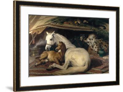The Arab Tent, 1866-Edwin Henry Landseer-Framed Premium Giclee Print