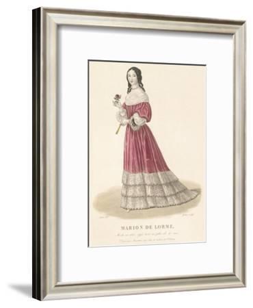 Marion de Lorme-Louis-Marie Lante-Framed Premium Giclee Print