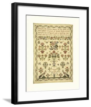 Sampler II-Elizabeth Wade-Framed Premium Giclee Print