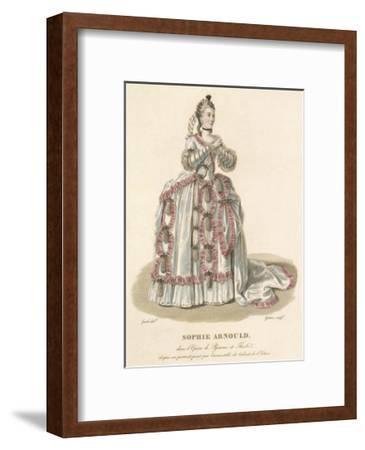 Sophie Arnould-Louis-Marie Lante-Framed Premium Giclee Print