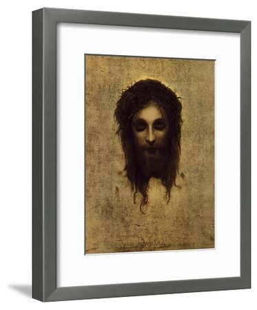 St. Veronica's Handkerchief-Gabriel Cornelius Ritter von Max-Framed Premium Giclee Print