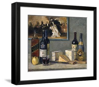 Cheese and Wine-Valeriy Chuikov-Framed Premium Giclee Print