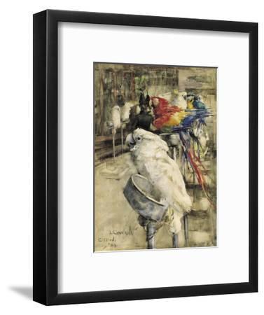 The Aviary, Clinton-Joseph Crawhall-Framed Premium Giclee Print