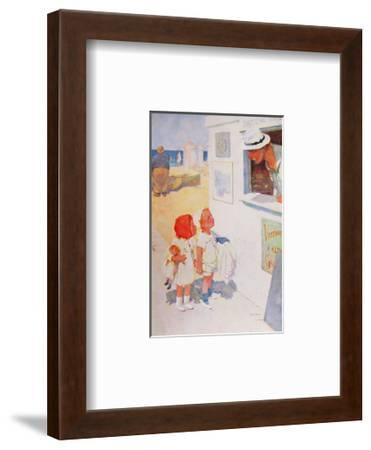 Is Mixed Bathing Allowed?-Lawson Wood-Framed Premium Giclee Print