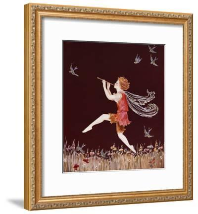 Fairy Boy-Marygold-Framed Premium Giclee Print
