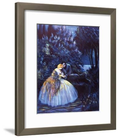 Lilac Time-Marygold-Framed Premium Giclee Print