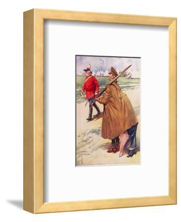 Out-Generalled!-Lawson Wood-Framed Premium Giclee Print