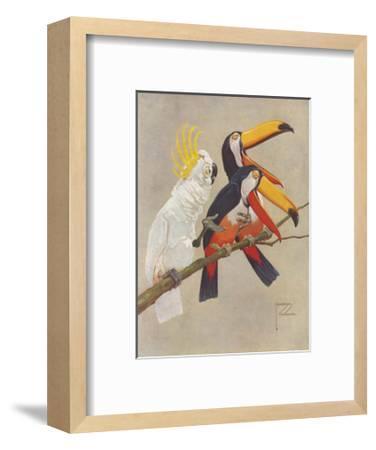 That's a Good One!-Lawson Wood-Framed Premium Giclee Print
