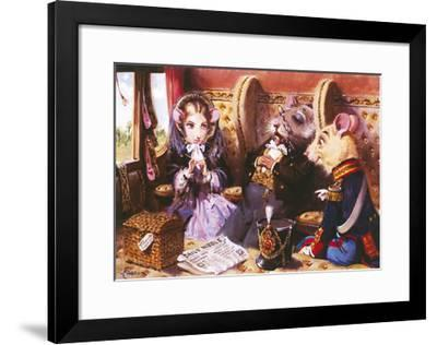 The Opportunist-Terence Cuneo-Framed Premium Giclee Print