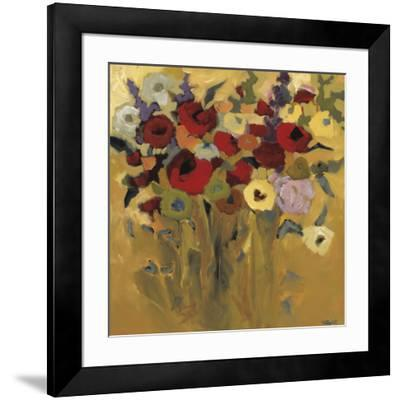 Jewel Bouquet-Jennifer Harwood-Framed Art Print