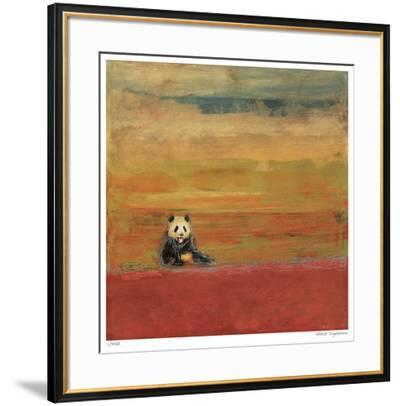 Sitting Panda-Mj Lew-Framed Giclee Print