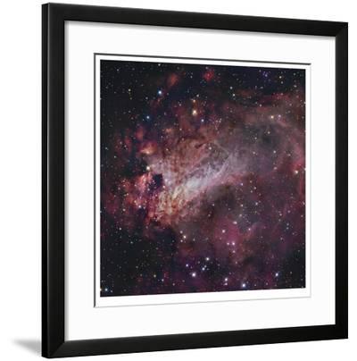 The Omega Nebula in Saggitarius-Robert Gendler-Framed Giclee Print